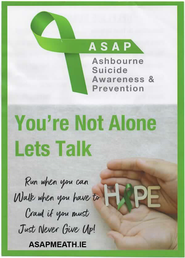 Ashbourne Suicide Prevention